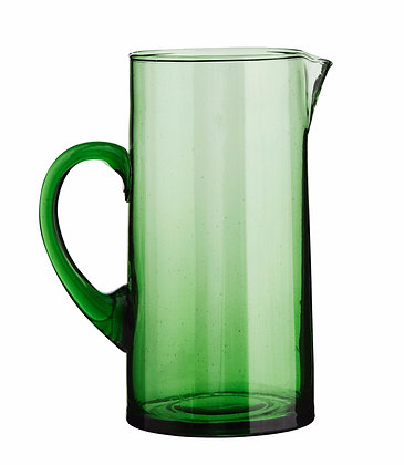 Carafe VERTE verre recyclé