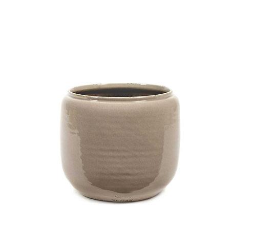 Cache-pot céramique nude