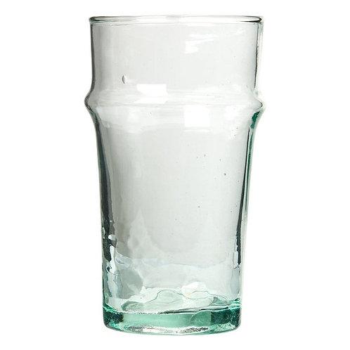 6 verres à eau recyclés beldis