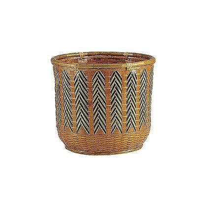 Cache-pot jonc bambou