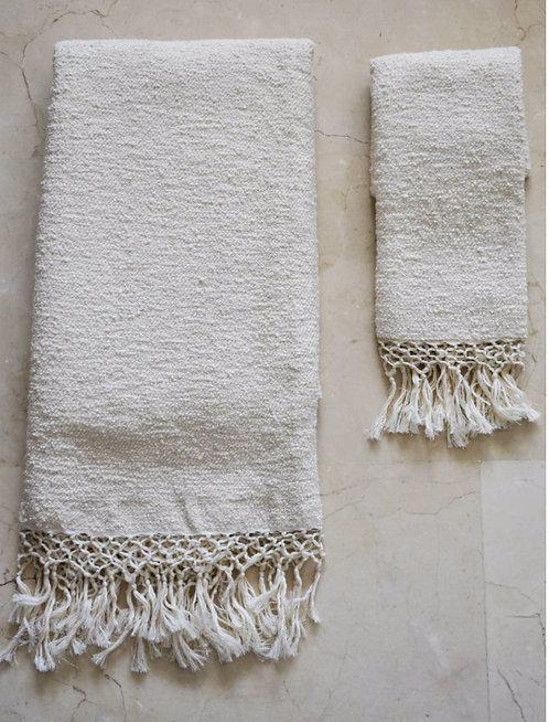 Serviette de toilette coton égyptien
