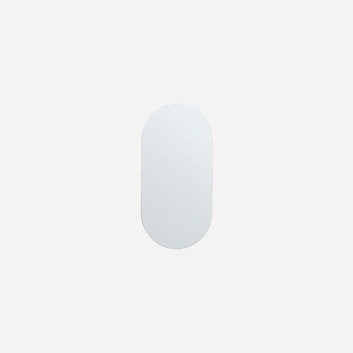 Petit miroir ovale 70 cm
