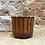 Thumbnail: Cache-pot bambou couleur cognac