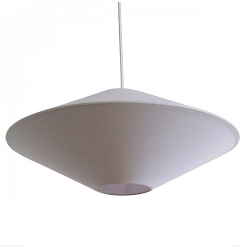 Suspension soucoupe blanc 50 cm