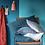 Thumbnail: Coussin lin lavé céladon