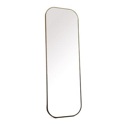 Miroir doré 90x30cm