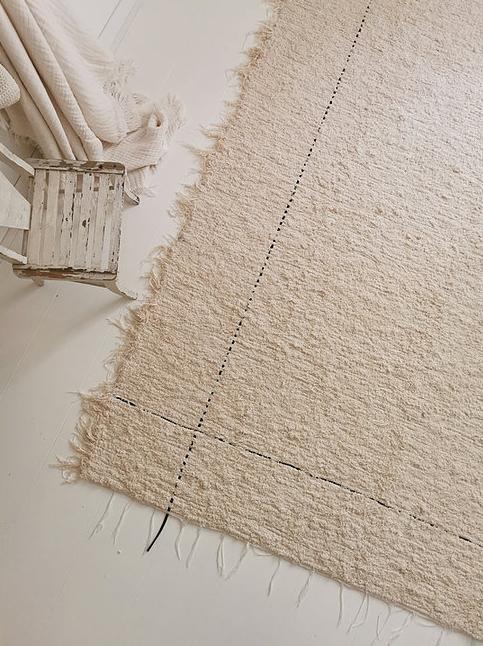 Tapis en coton recyclé 140x200 cm