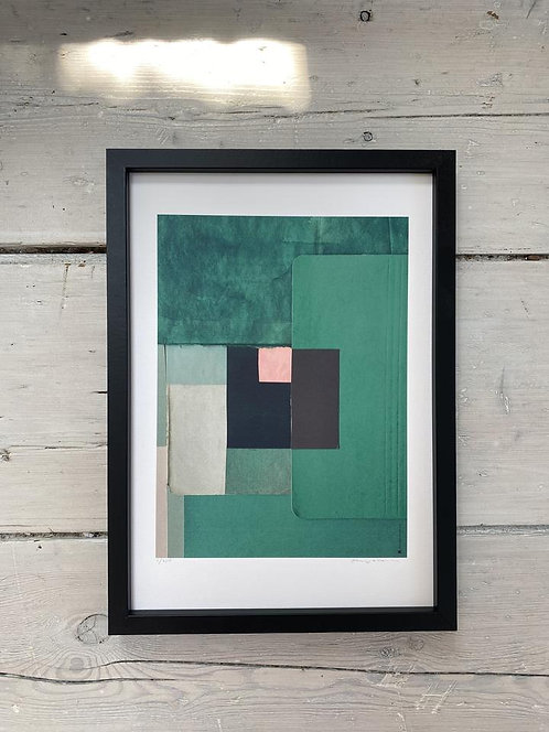Emerald green 21 x 29,7 cm