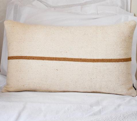 Coussin laine écru