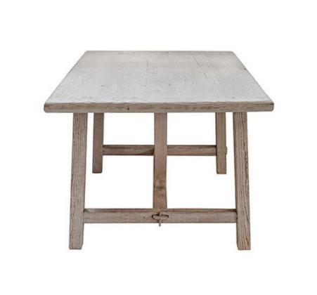 Table à manger orme vintage