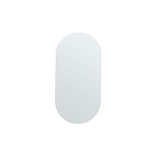Miroir ovale 100 cm