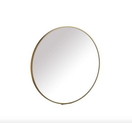Miroir doré 60 cm