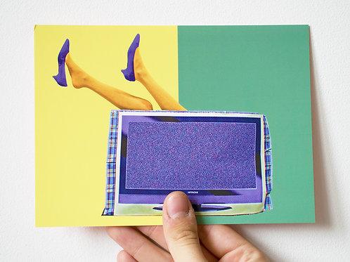Head Over Heels - Postcard 12.7 x 17.78 cm