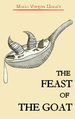 """Book cover """"The Feast of the goat"""""""