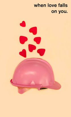 A helmet to protect you from love.