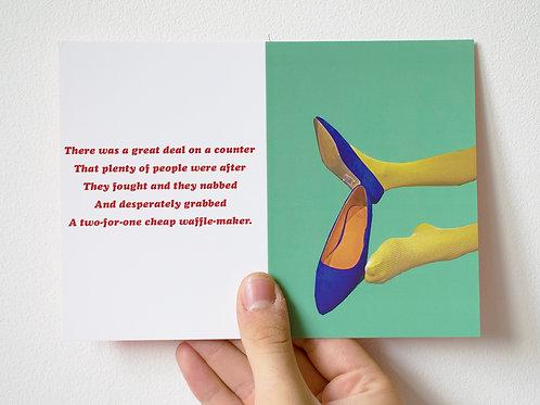 Mace One Get One Free - Postcard 12.7 x 17.78 cm