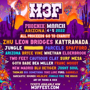 Non-Profit Music Festival M3F Announces Lineup for 2022 Event in Phoenix, Arizona