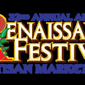 The Renaissance Festival Comes to Town!