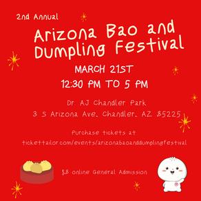 Time to Bao Down at the Arizona Bao and Dumpling Festival!