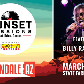 Mecum Presents Sunset Sessions with Headliners Lifehouse and Billy Ray Cyrus, March 13 & 14
