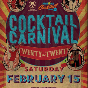 It's time to get your drink on! It's Cocktail Weekend 2020!