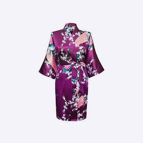 Kimono Morado Personalizado