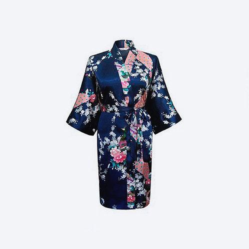 Kimono Azul Marino Personalizado