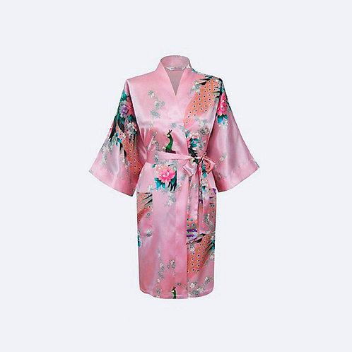 Kimono Rosa Personalizado