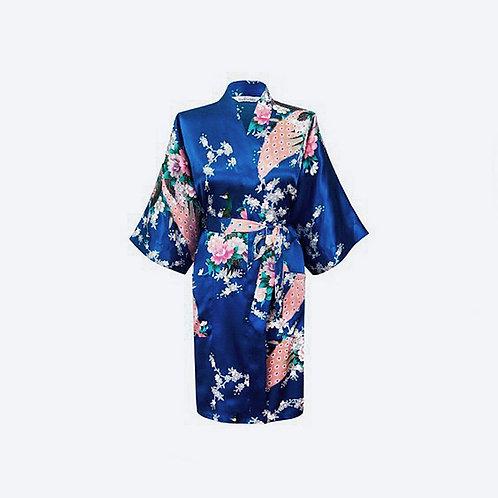 Kimono Azul Eléctrico Personalizado