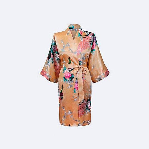 Kimono Amarillo Personalizado