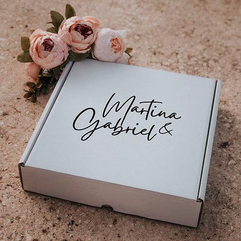 Caja para regalo personalizada grande