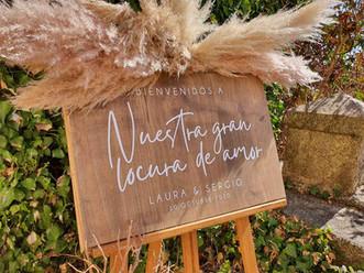 madera personalizado boda locura amor id