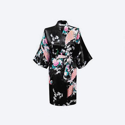 Kimono Negro Personalizado