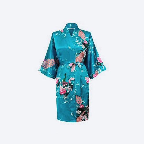 Kimono Azul Personalizado