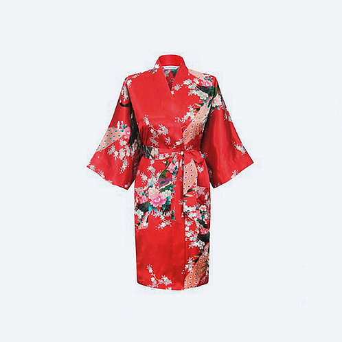 Kimono Rojo Personalizado
