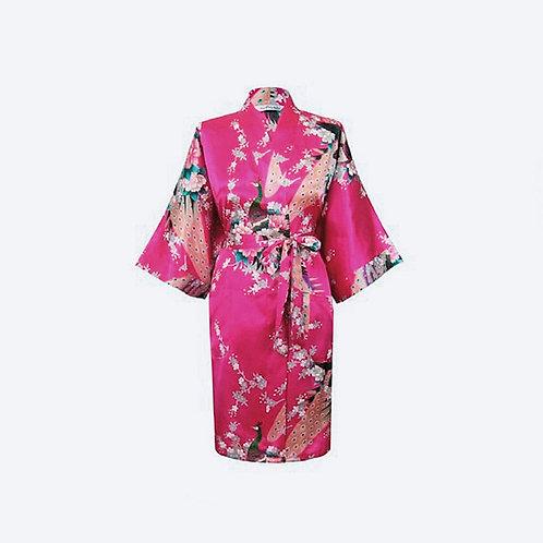 Kimono Fucsia Personalizado