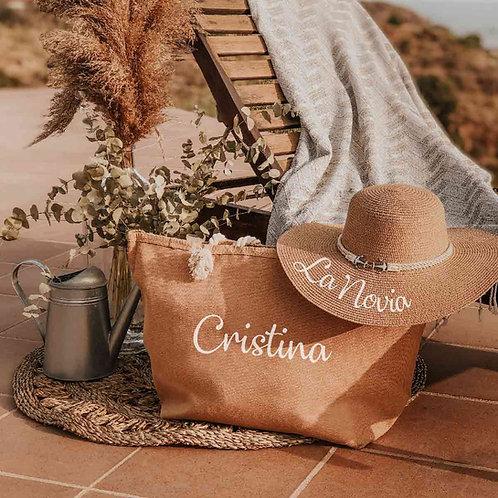 PACK Bolsa de Playa + Pamela Personalizada