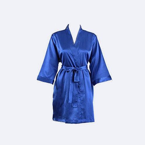 Bata Azul Eléctrico Personalizada