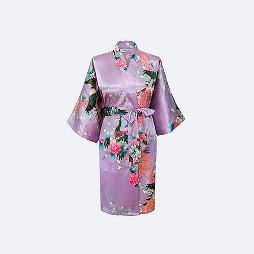 Kimono Lavanda Personalizado