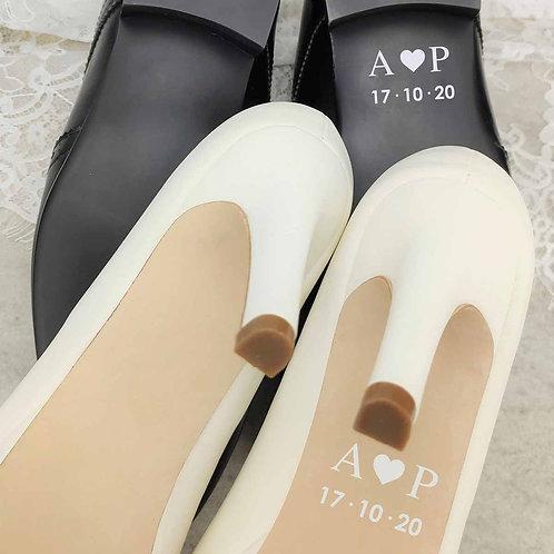 """Pegatinas para Zapatos """"Corazón"""""""
