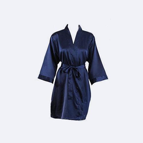 Bata Azul Marino Personalizada