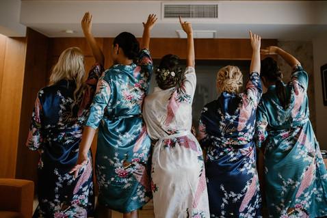batas y kimonos personalizados novia y a