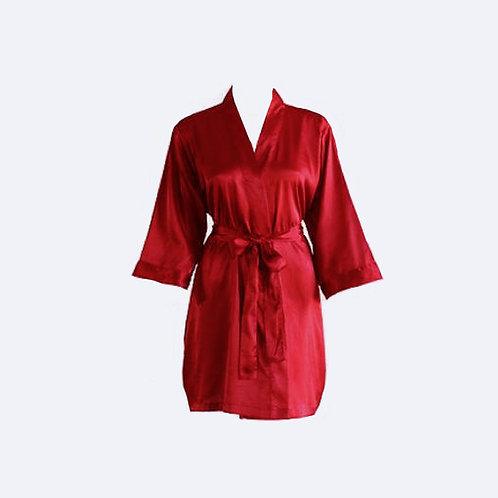 Bata Roja Personalizada