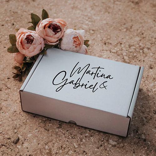 Caja para regalo personalizada mediana