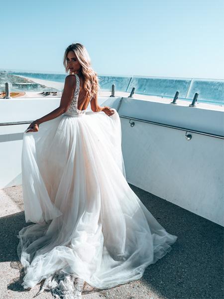 Thumbnail: Rachel Rose Bridal - Pearl Overskirt