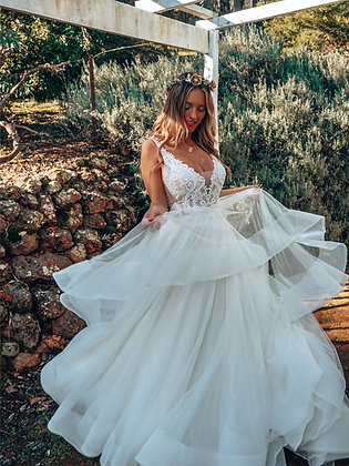 Rachel Rose Bridal - Cloud