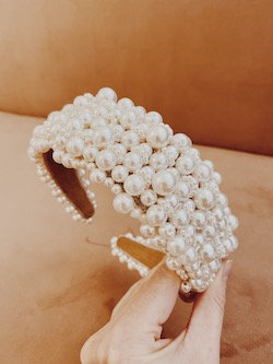 Devoted by Jessica Jordan - Ava Luxe Pearl Hairband