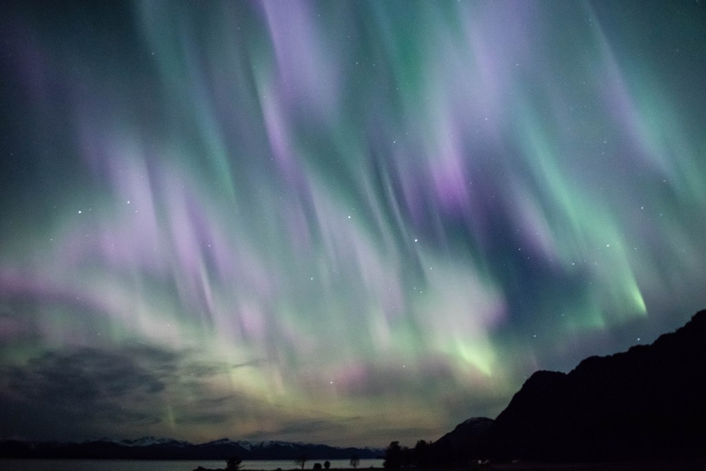 And when you are nice to the Spirit Eagle they bestow gifts like this amazing look at the Northern lights!!