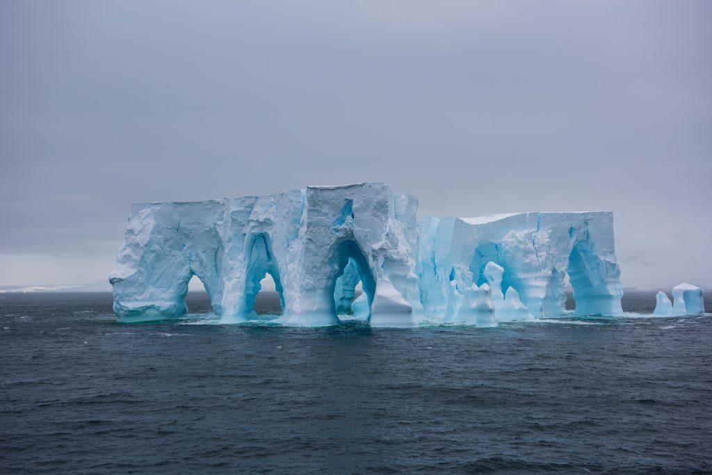 Massive iceberg cathedral -Antarctic Peninsula (March 2016)