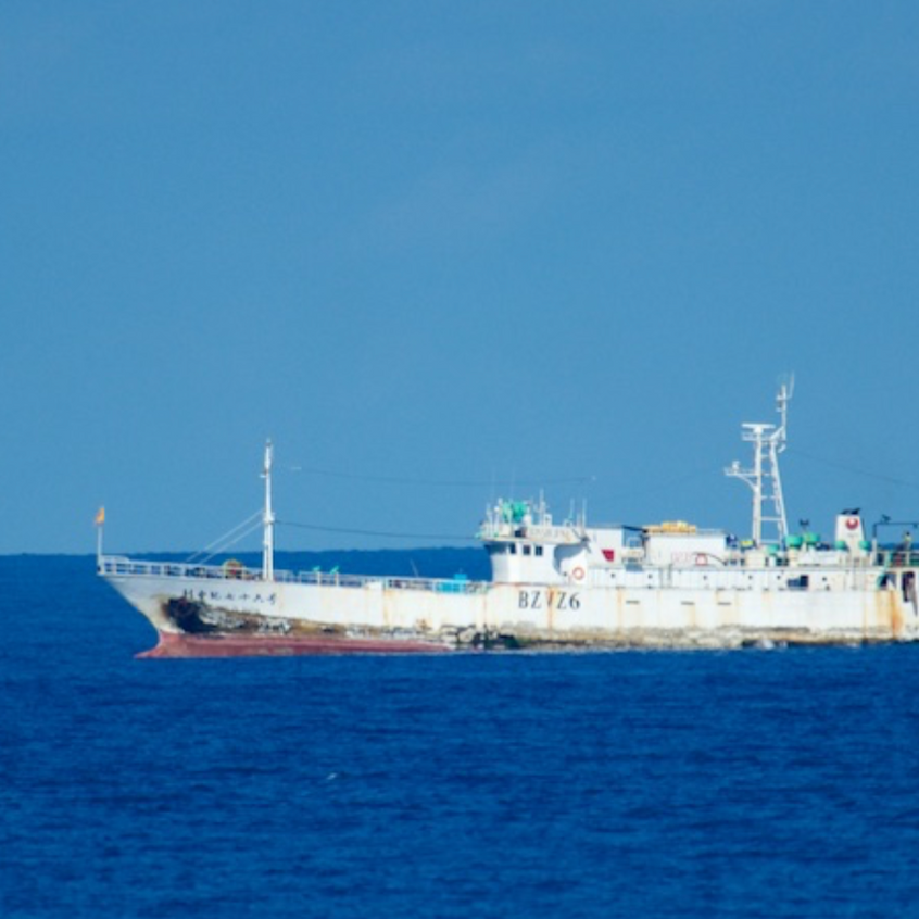 Longliner off Zanzibar